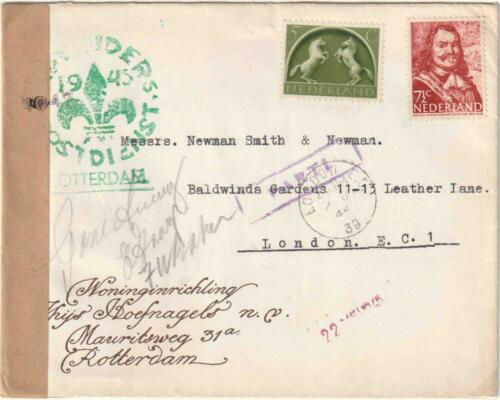 1945, DE POST IN BEVRIJD ZUID-NEDERLAND | Collectie Henk Hospers